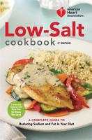 American Heart Association Low Salt Cookbook  4th Edition PDF