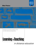 Learning and Teaching in Distance Education
