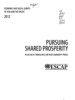 Economic and Social Survey of Asia and the Pacific 2012 PDF