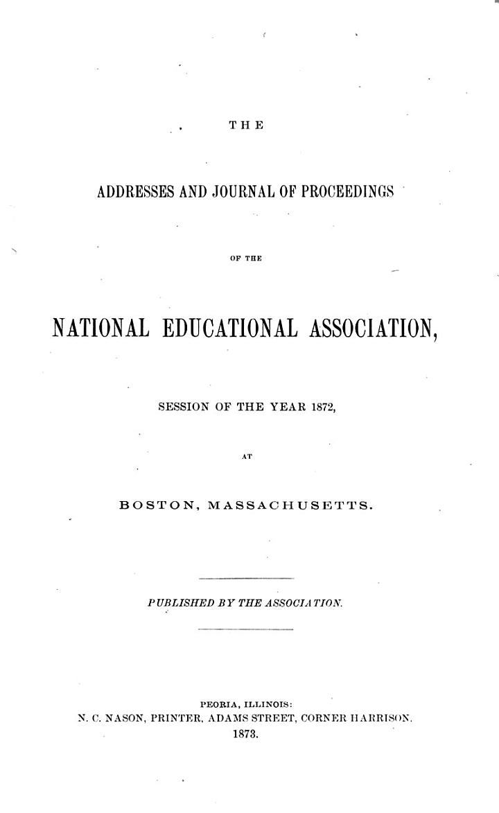 Proceedings of the ... Representative Assembly