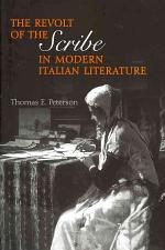 The Revolt of the Scribe in Modern Italian Literature