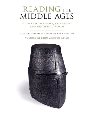 Reading the Middle Ages  Volume II PDF
