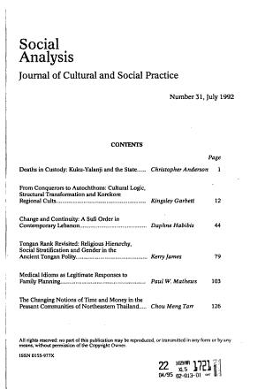 Social Analysis PDF