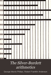 The Silver-Burdett Arithmetics: Book 1-, Book 3