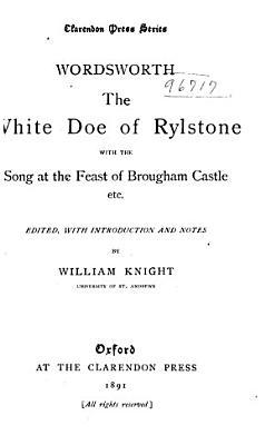 The White Doe of Rylstone PDF