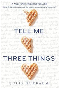 Tell Me Three Things Book