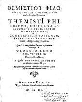 Themistiu Philosophu, Tu Kai Euphradus Epiklēthentos, logoi hex basilikoi