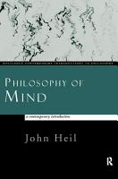 Philosophy of Mind  A Contemporary Introduction PDF