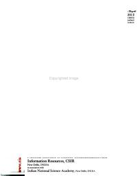 Indian Journal of Radio   Space Physics PDF