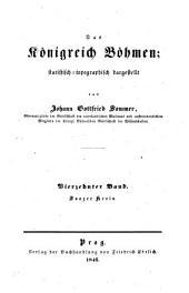 Das Königreich Böhmen: statistisch-topographisch dargestellt. Saatzer Kreis, Band 14