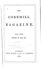 The Cornhill Magazine: Volume 13; Volume 17