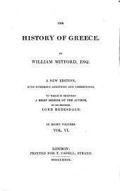 The history of Greece: Volume 6