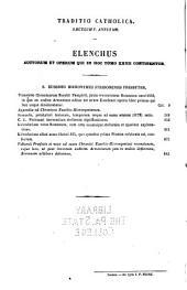 Patrologiæ cursus completus: sive bibliotheca universalis, integra, uniformis, commoda, oeconomica, omnium SS. patrum, doctorum, scriptorumque ecclesiasticorum. Series latina, Volume 27