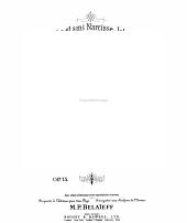 Deuxième sonate en mi: pour piano : op. 75