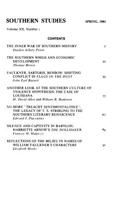 Southern Studies PDF