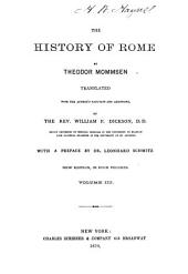 The History of Rome: Volume 3
