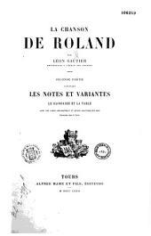 La chanson de Roland: texte critique accompagné d'une traduction nouvelle