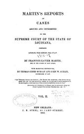 Reports of Cases Argued and Determined in the Supreme Court of Louisiana: Volume 2, Issues 4-5