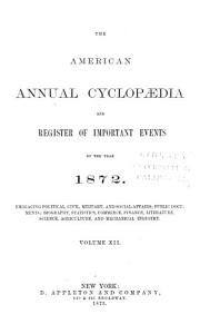 Appleton s Annual Cyclopaedia and Register of Important Events PDF