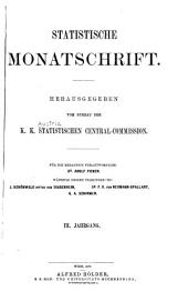 Statistische monatschrift
