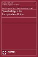 Strukturfragen der Europ  ischen Union PDF