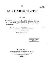 De la conjonctivite; thèse, etc