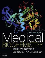 Medical Biochemistry E Book PDF
