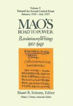 Mao's Road to Power - Revolutionary Writings, 1912-1949