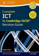 Complete ICT for Cambridge IGCSE