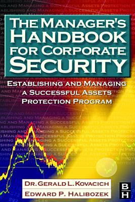 The Manager s Handbook for Corporate Security PDF