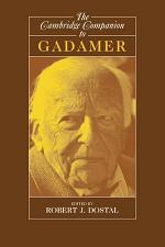 The Cambridge Companion to Gadamer