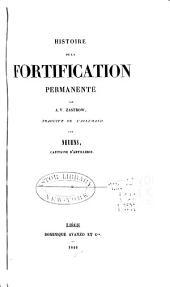 Histoire de la fortification permanente