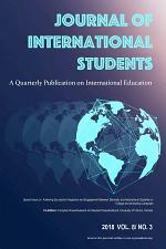 Journal of International Students 2018 Vol 8 Issue 3