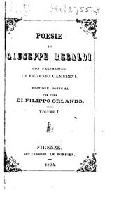 Poesie di Giuseppe Regaldi