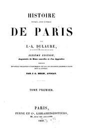 Histoire physique: civile et morale de Paris, Volume1