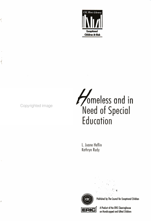 Homeless and in Need of Special Education