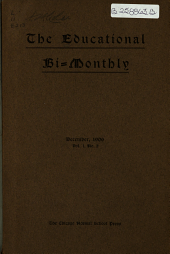 The Educational Bi-monthly: Volume 1, Issue 2
