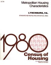 1980 Census of Housing: Metropolitan housing characteristics. Lynchburg, Va, Volume 2
