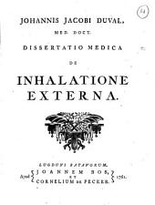 De inhalatione externa