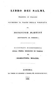Psalterium hoc est psalmorum liber excerptus e bibliis sacris a Sixto V. recognitis. -Londini, Jos. S. Hughes 1822