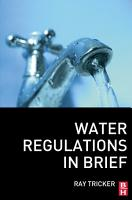 Water Regulations In Brief PDF