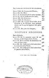 Oeuvres de Condillac: Essai sur l'origine des connoissances humaines. Tome premier