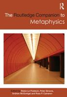 The Routledge Companion to Metaphysics PDF