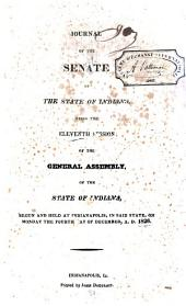 Journal of the Senate of the State of Indiana at Their ... Session: Volume 11
