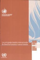 Los principales tratados internacionales de derechos humanos: nuevos tratados