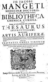 Bibliotheca chemico curiosa: seu rerum ad alchemiam pertinentium thesaurus intructissimus, Volume 2