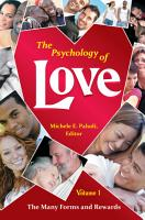 The Psychology of Love PDF