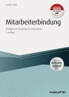 Mitarbeiterbindung   inkl  Arbeitshilfen Online PDF