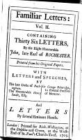 Familiar Letters PDF