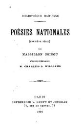 Poésies nationales (première série)